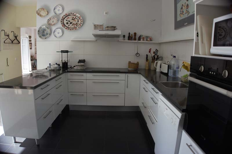 The Madeira house has a kitchen meant for permanent residence