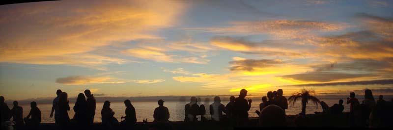 Paúl do Mar: genieten van de zonsondergang. Ook een 'asset' van West Madeira