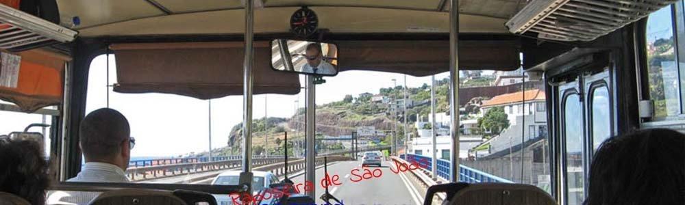 bussen op Madeira