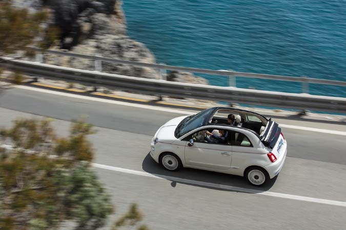 Rent a small car. The Fiat 500 is fun!